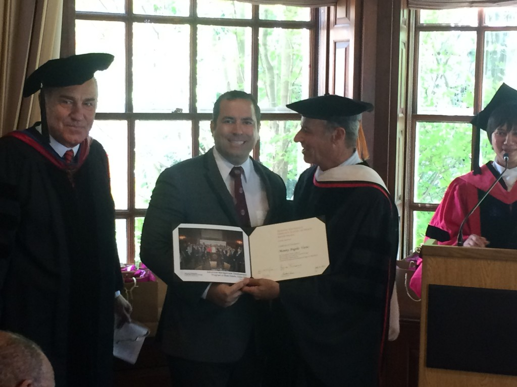 Manny Angelo Varas Graduates From Harvard